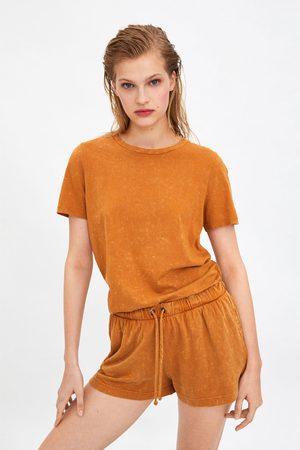 Zara Shorts efeito lavagem