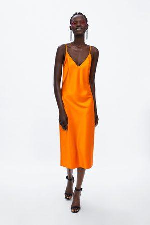 Zara Vestido estilo lingerie premium