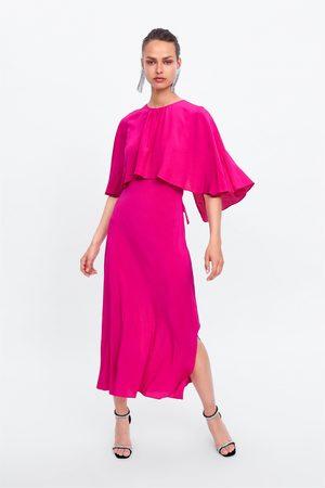 Zara Vestido fluido estilo capa