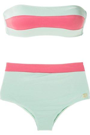 Brigitte Hot pant bikini set