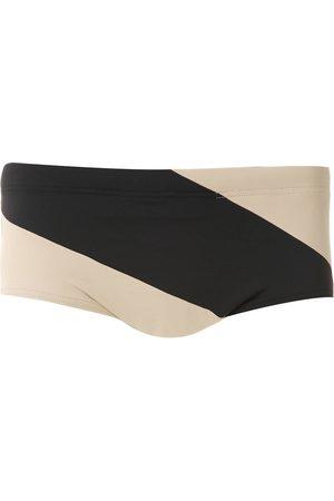 AMIR SLAMA Panelled trousers