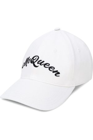 Alexander McQueen Homem Chapéus - Logo embroidered baseball hat