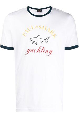 Paul & Shark Logo motif T-shirt