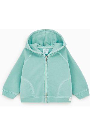 Zara Blusão felpa básico