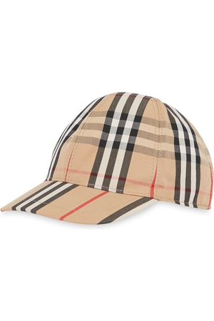 Burberry Menina Chapéus - Vintage Check and Icon Stripe Baseball Cap