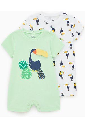 Zara Bebé Pijamas - Pack de dois pijamas com tucano