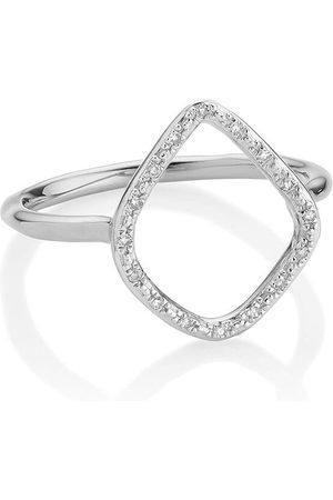 Monica Vinader Riva Diamond Hoop ring