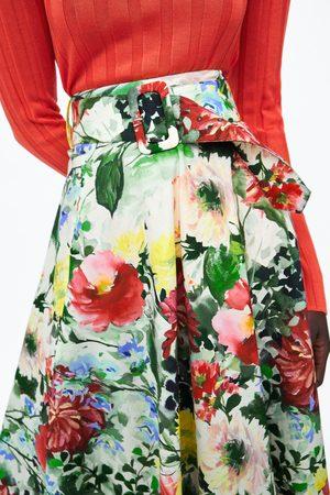 Zara Saia estampado floral