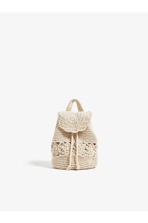 Zara Mochila de crochet