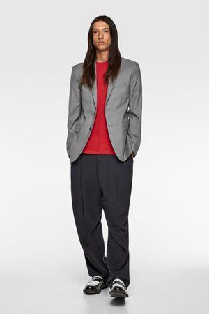 Zara Homem Blazers - Blazer de fato chintz confortável