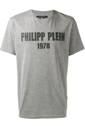 Philipp Plein Homem T-shirts & Manga Curta - Logo print T-shirt