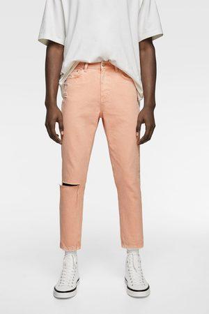 Zara Jeans slim coloridos