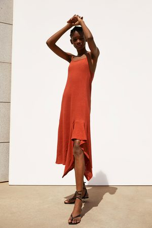Zara Vestido assimétrico