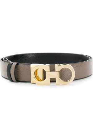 Salvatore Ferragamo Senhora Cintos - Chunky buckle belt