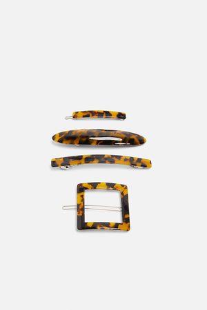 Zara Pack de ganchos de acetato