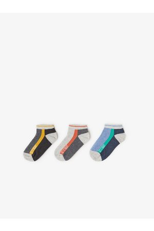 Zara Pack de três pares de meias curtas