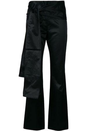 ROMEO GIGLI Bow detail slim trousers