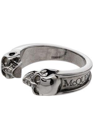Alexander McQueen Twin skull ring