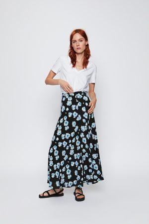 fa52d5d8e8 Zara Saias Midi de Senhora Online Comprar