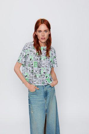 Zara T-shirt com estampado comic ©disney