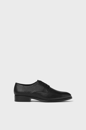 Zara Homem Sapatos - Sapato de pele gravado
