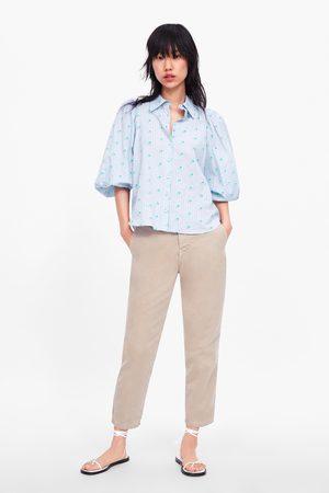 Zara Senhora Calças Chino - Jeans zw premium new chino