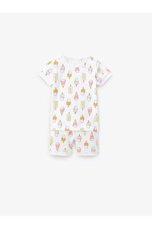 Zara Pijama de duas peças com gelados