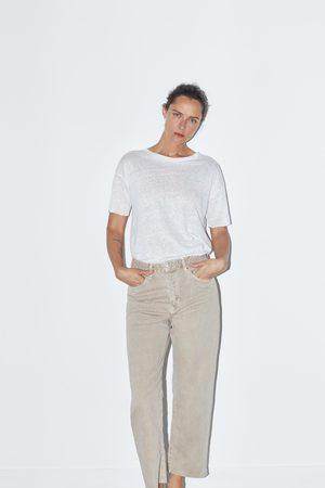 Zara Senhora Retos - Jeans zw premium straight cropped