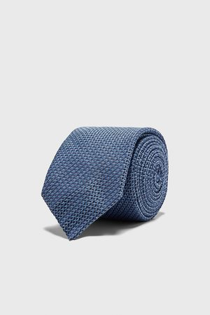 Zara Homem Gravatas - Gravata larga com estrutura