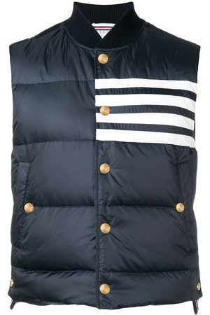 Thom Browne 4-bar Matte Nylon Down Vest