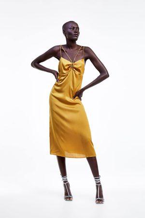 Zara Senhora Tops & T-shirts - Vestido tipo lingerie alças
