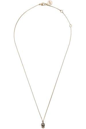 Alexander McQueen Senhora Colares - Pave skull necklace