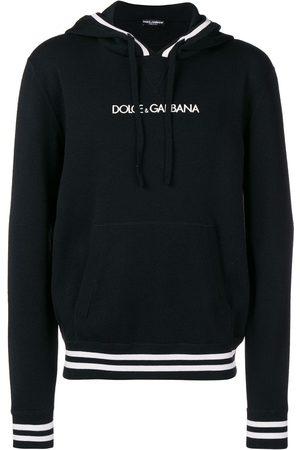 Dolce & Gabbana Homem Camisolas com capuz - Logo embroidered hoodie