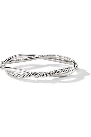 David Yurman Senhora Pulseiras - Continuance Small Station diamond bracelet