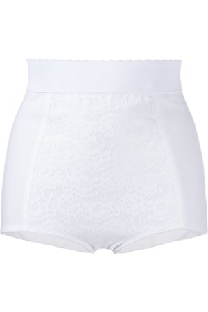 Dolce & Gabbana Lace-panelled briefs