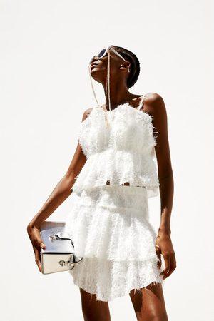 Zara Blusa de textura