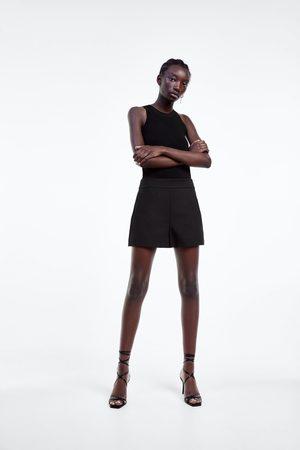 Zara Shorts cintura alta