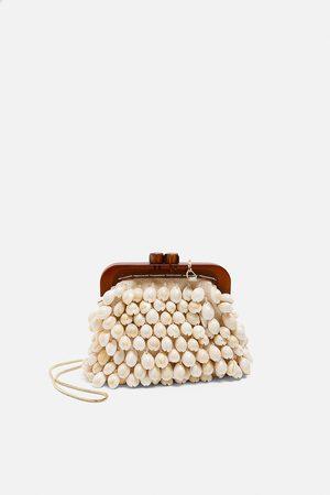 Zara Mini mala a tiracolo fecho conchas edição especial