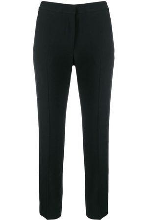 Alexander McQueen Senhora Calças Formal - Cropped leg cigarette trousers