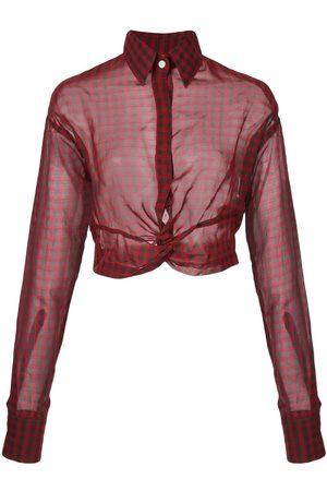 HACULLA Plaid blouse