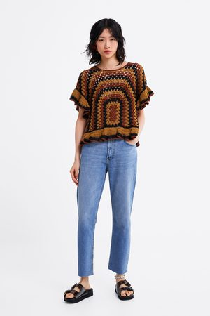 Zara Jeans zw premium new straight sunrise blue