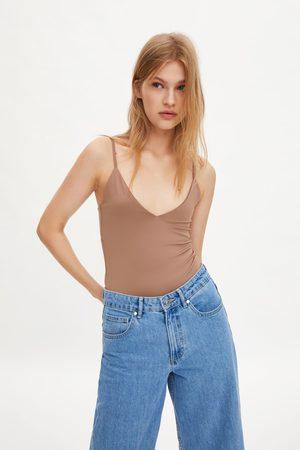 Zara Top alças