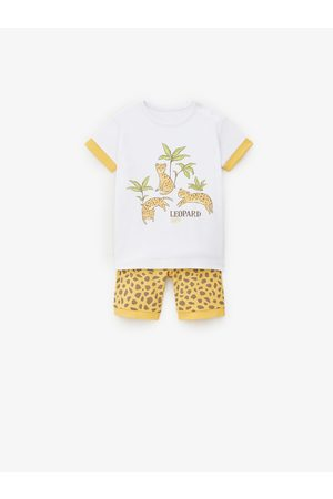 Zara Pijama leopardo