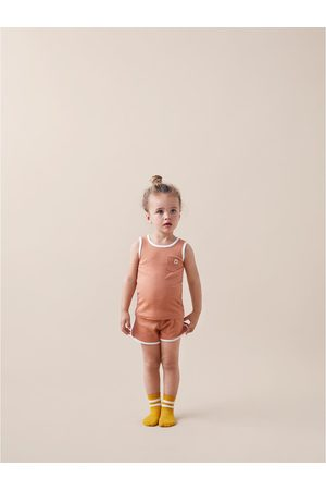 Zara Pijama com nervuras etiqueta