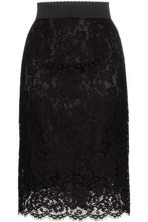 Dolce & Gabbana Lace midi pencil skirt