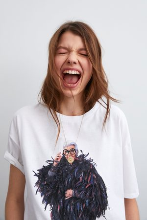 Zara T-shirt iris apfel