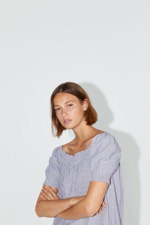 Zara Vestido com elásticos