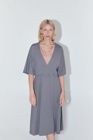 Zara Senhora Cintos - Vestido com cinto