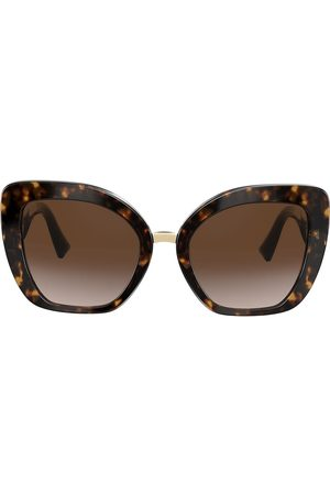 VALENTINO Two-tone cat eye V logo sunglasses
