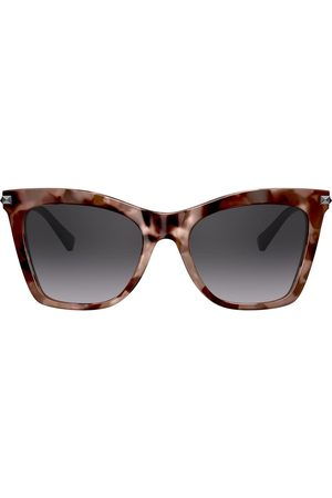VALENTINO Studded arms cat-eye sunglasses